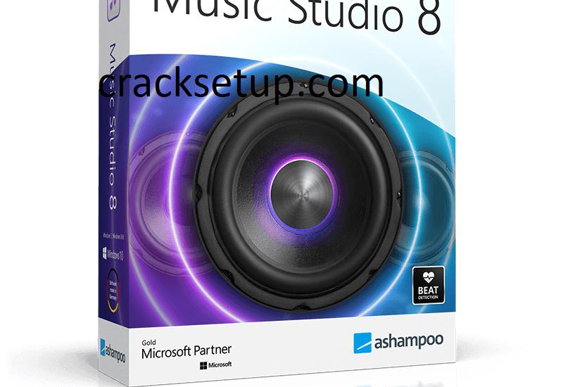 Ashampoo Music Studio Crack 8.0.4 + Keygen Free Download 2021